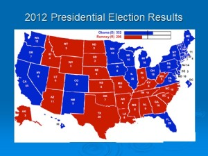 Figure 4. Presidential Election Results, 2012, by State